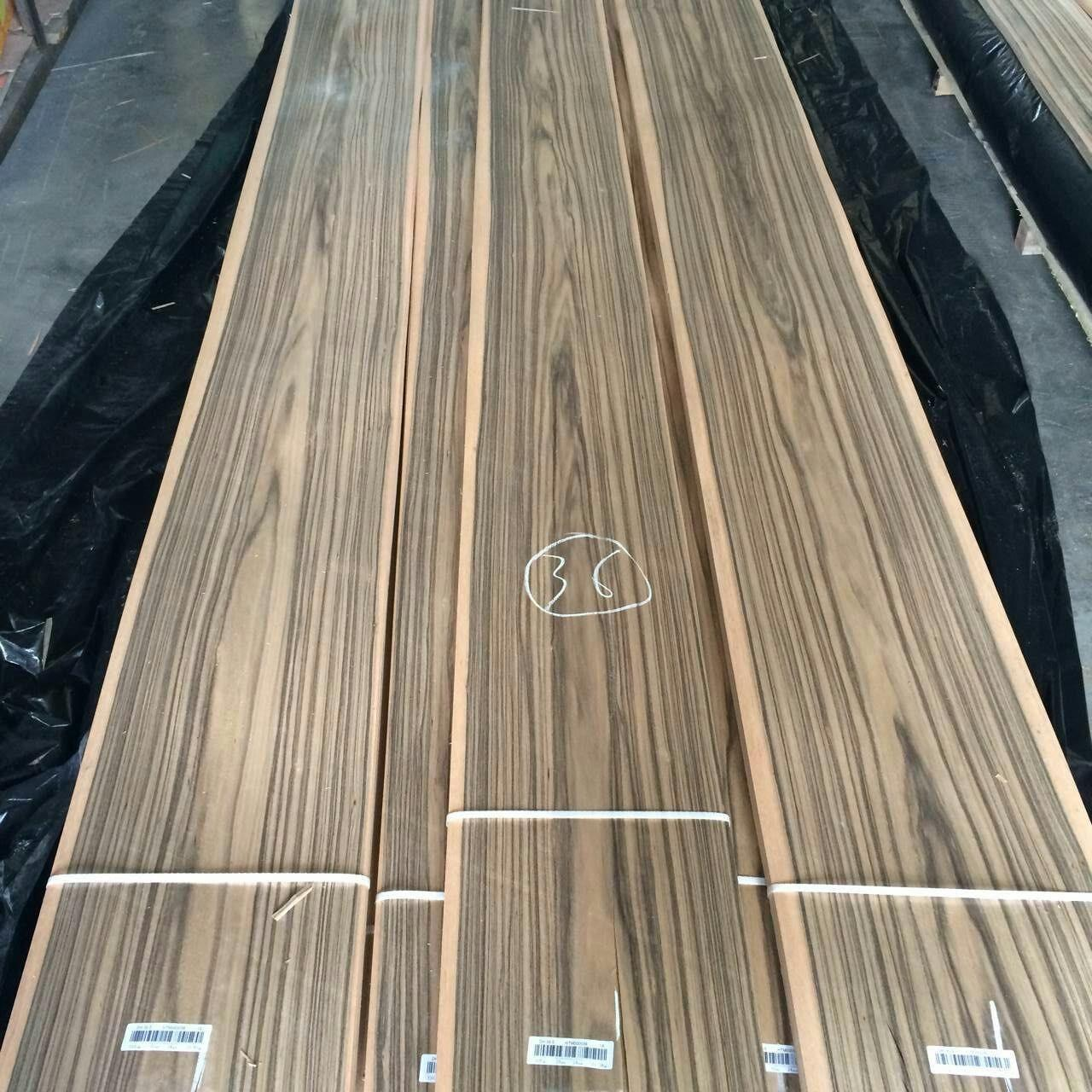 Crown Paldao Natural Wood Veneer Full 0.52mm Thick Paldao Veneer for Furniture Doors and Architectural Panel Manufactures
