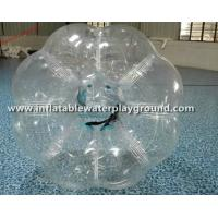 Commercial Clear Inflatable Human Sized Bubble Ball Soccer Rental Manufactures