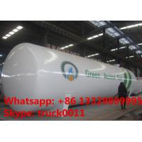 factory price of lpg gas propane tank for sale, ASMEstandard highquality bulk lpg gas pressure vessel tank for sale Manufactures