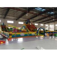 stocks giant bouncy castle playground for sales Manufactures