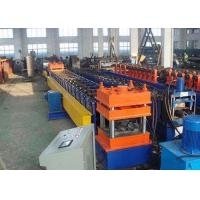 Galvanized Steel Highway Guardrail Roll Forming Machine With Easy Operation Manufactures
