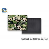 Lovely Panda Photo Lenticular Magnet Souvenir Customized Size SGS Certificated Manufactures