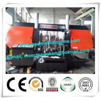 CNC Metal Cutting Band Saw Machine , Pipe Bandsaw Cutting Machine Manufactures