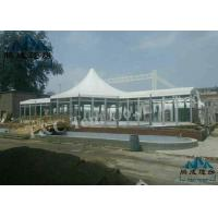 Luxury Decoration Bell Tent Hotel , Selectable Size Outdoor Event Tent Manufactures