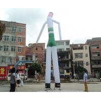6M Oxford Inflatable Advertising Man / Colouful Inflatable Sky Dancer For Advertising With Blower Manufactures