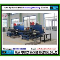 Quality CNC Hydraulic Plate Punching and Marking Machine used In Transmission Tower Line for sale