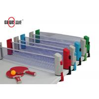 Indoor / Outdoor Portable Table Tennis Set Easy To Take 190 * 68.5mm Size Manufactures