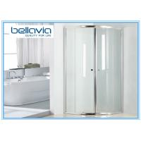 Bright Handle 900 X 760 Shower Enclosure Quadrant , Bathroom Shower Glass Enclosures Manufactures