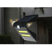 150 Lumen Solar Motion Detector Lights Two COB Leds , 1-2 Nights Discharging Time Manufactures