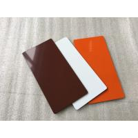 Quality Rustproof Fire Rated Aluminium Composite Panel With Thermal Resistance for sale