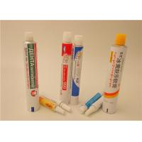 Cream Ointment Gel Aluminum Squeeze Tubes With Full Printing , Aluminum Pharma Tube Manufactures