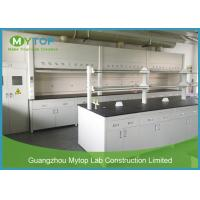 Modern Science Laboratory Benches And Cabinets , School Laboratory Furniture Table Manufactures