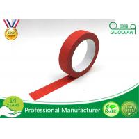 Kids Craft Multi Pack Colored Masking Tape / 140 - 150mic Thickness Red Packing Tape Manufactures