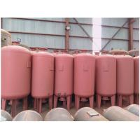 Quality Medium Pressure Natural Compressed Gas Storage Tank For Air Removing System for sale