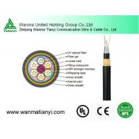 Factory price 2-144 core Fiber cable Outdoor overhead Fiber Optic Cable ADSS Manufactures