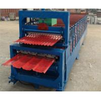Quality Automatic Corrugated Double Layer Roll Forming Machine With Manual Decoiler for sale