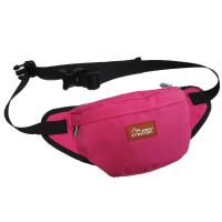 Custom Canvas Fanny Pack Travel Waist Bag Red Color For Womens Manufactures