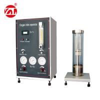 220V 50hz Limited Oxygen Index Tester Burning Materials Performance Test Available GB2406 Manufactures