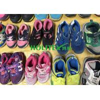 Children's Second Hand Clothes Shoes / Colorful Used Sports Shoes For Summer Manufactures