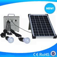 China 10w portable solar kits mini solar power generator with battery for home use on sale