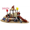 Magic House Series Slide Play Equipment Small Size Fashion Cute Design High for sale