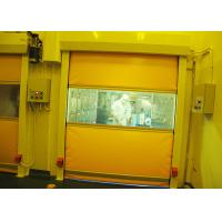 Quality Power Coated Steel Clean Room Air Shower Tunnel With High Speed Rolling Automatic Opening Shutter for sale