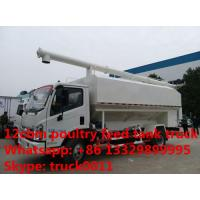 Quality 2018s cheapest price Forland 4*2 RHD bulk feed transporting truck, Wholesale 4-6tons poultry feed delivery truckck for sale