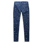 Blue Fashion Asian Trends Design Ladies Casual Pants 100 % Tencel