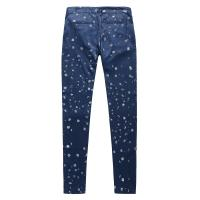 Quality Blue Fashion Asian Trends Design Ladies Casual Pants 100 % Tencel for sale