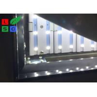 Quality Flat Pack LED Fabric Light Box For Indoor Retail Advertising Sign Board for sale