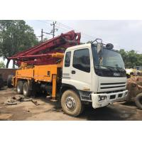 ISUZU 42M Used Concrete Pump , 2010 Year Used Isuzu Concrete Pump Truck Manufactures