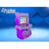 Children Amusement Park Coin Operated Candy Bear Game Machines Manufactures