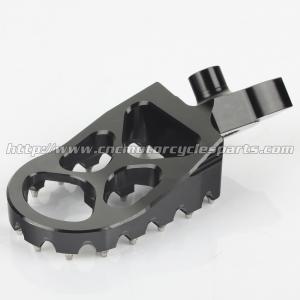 Quality Suzuki Aluminum Dirt Bike Foot Pegs Anti Slip Control Motocross Footpegs With High Grip for sale
