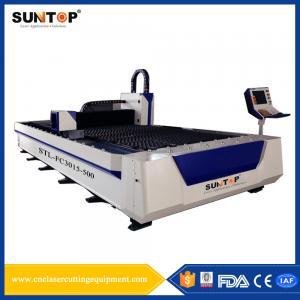 Titanium Alloy Silicon Steel Cutting Machine 1500 * 3000mm 380V/50Hz Manufactures