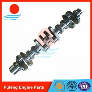China forged steel crankshaft supplier in China, 60HRC Mitsubishi 6D16T crankshaft ME072197 23100-93072 used for excavator on sale
