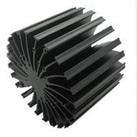 6063 - T5 Cooler / Radiator / Aluminum Heatsink Extrusions High performance Manufactures