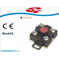 China KSD308F Manual reset thermostat snap action  temperature switch used in water heater on sale