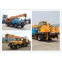 Kaifan 8t 101kw Hydraulic Truck Bed Crane Wind Force Lower Than 6 Degree Manufactures