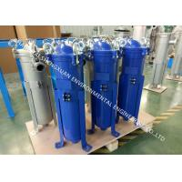China SS 304 Material Single Bag Filter Housing With High Pressure Chemical Top Entry on sale