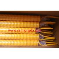 High spring memory PU coil tube with SGS standards, OD8mm, color Yellow Manufactures
