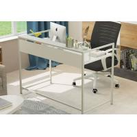Simple Steel Wood Desktop Computer Desk For Household , Modern Office Table Manufactures