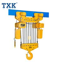 TXK 15 Ton Chain Hoist With Motor Hoist 380V Power IP55 Protection Level Manufactures