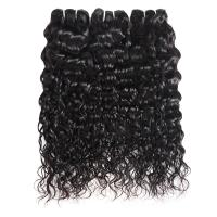 100% Raw Unprocessed Peruvian Human Water Wave Hair Full Cuticle Aligned Manufactures
