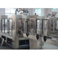 Anti Corrosive Rotary Beverage Filling Machine Filling 3-in-1 5000 BPH Manufactures