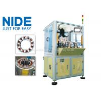 BLDC Motor Coil Winding Machine / Fan Stator Winding Machine Servo System Manufactures