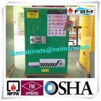 Hazardous Waste Storage Cabinets For Laboratory , Paint Safety Storage Cabinets For Inks Manufactures