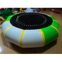 PVC Tarpaulin Inflatable Trampoline Customized  Inflatable Water Park Games Manufactures