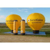 Colorful Inflatable Hot Air Balloon ,  Custom Advertising Blow Ups With Logo Manufactures