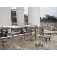 Skid-mounted LNG Vaporizer 0.8-100MPa Steel 10-6000nm3/h Flow Low Consumption Manufactures