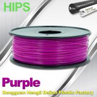Small Density Colorful  HIPS  Filament 1.75mm Materials In 3D Printing Manufactures
